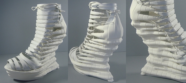 3D printed shoes- The Reptile