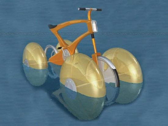 amphibious bicycle 5965