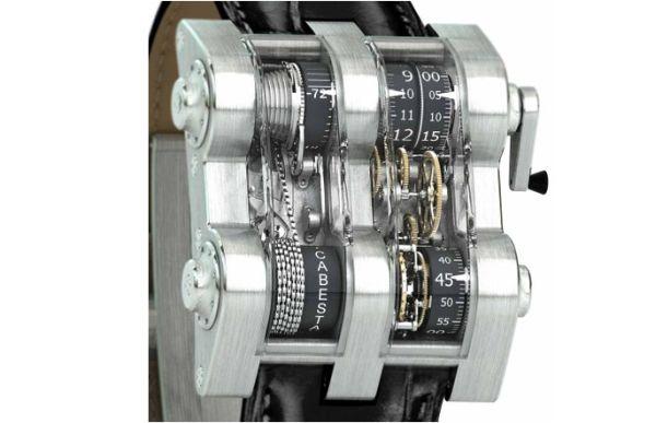 Cabestan Winch Tourbillion Vertical Wristwatch