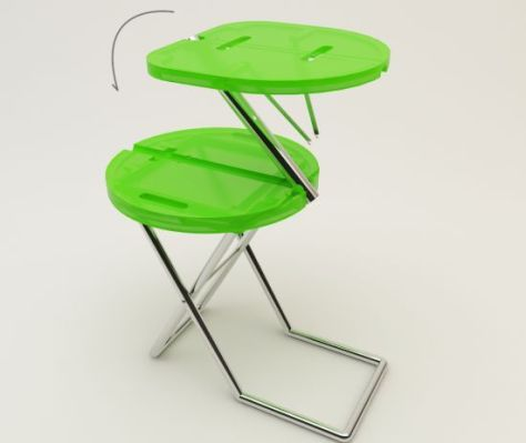 camping chair table concept 02
