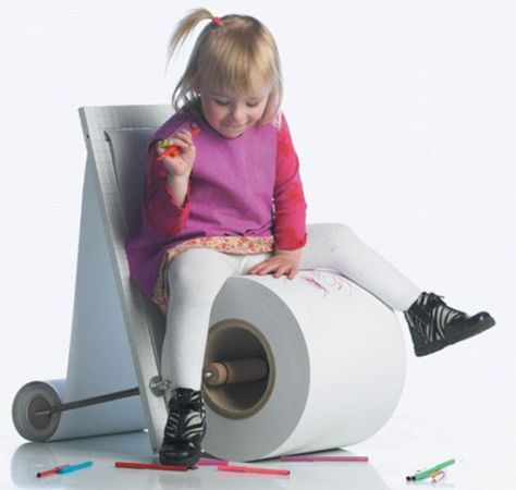 childrens paper chair 01