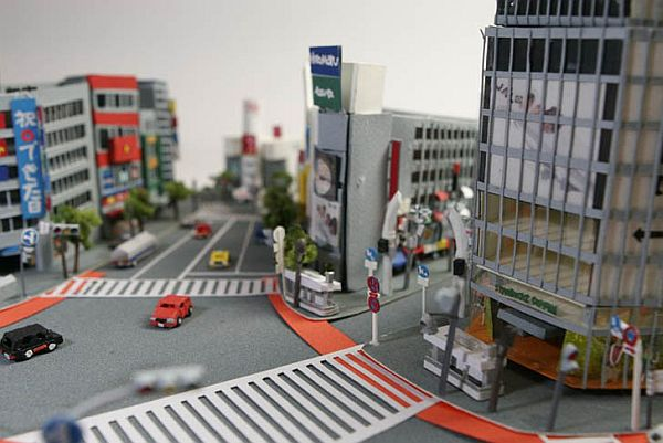 City of Tokyo Entirely From Paper