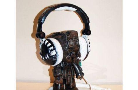 Custom Steampunk Skullcandy Headphones
