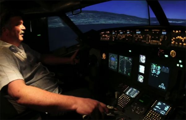 Fantastic DIY Flight Simulator