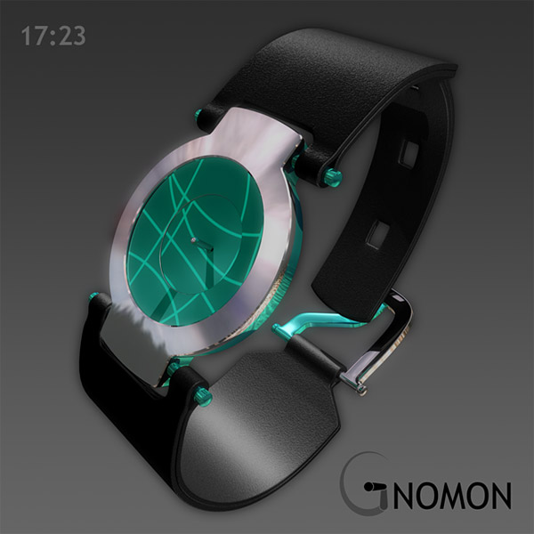 gnomon sundial watch 01