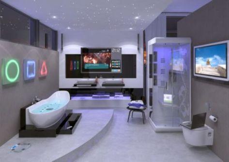 Hi-tech bathroom from Ideal Standard
