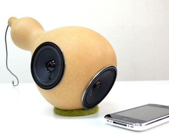 hyoutan speaker for ipod 1