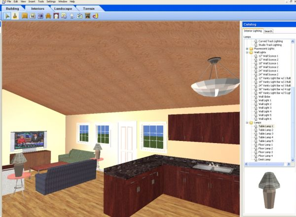 Interior design software / tools