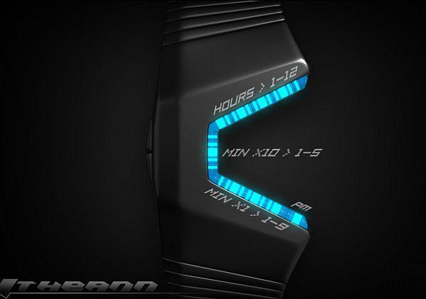 Itheann  LED watch
