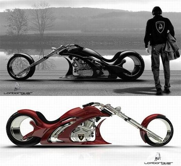 Lamborghini inspired bike runs on Osmos wheels