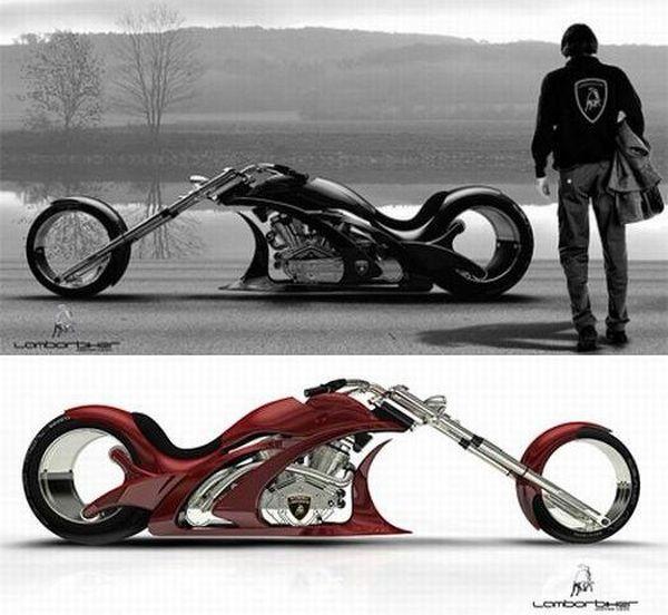 Lamborghini inspired bike runs on Osmos wheels