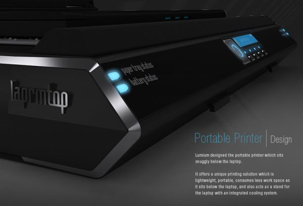 Lumium portable printer