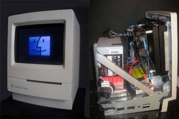 Mac Classic Mac Mini Mod