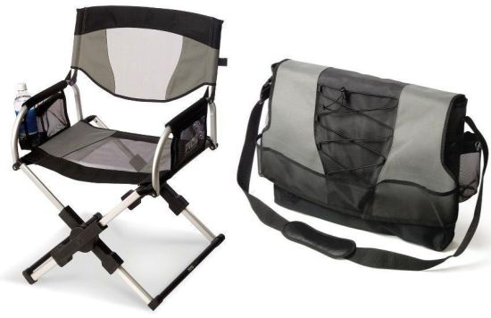 messenger bag directors chair