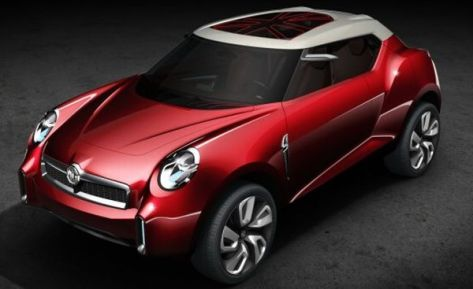 MG Icon SUV concept