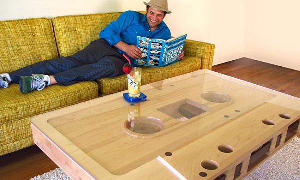 Mixtape Retro-riffic Coffee Table