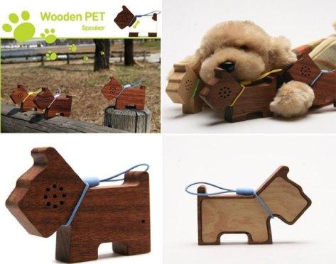 motz tiny wooden pet speake