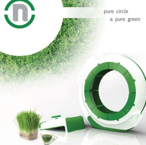 N indoor hydroponic garden