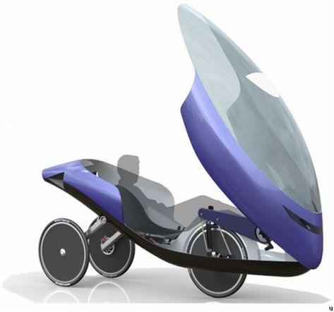 NoVelo human-powered vehicle