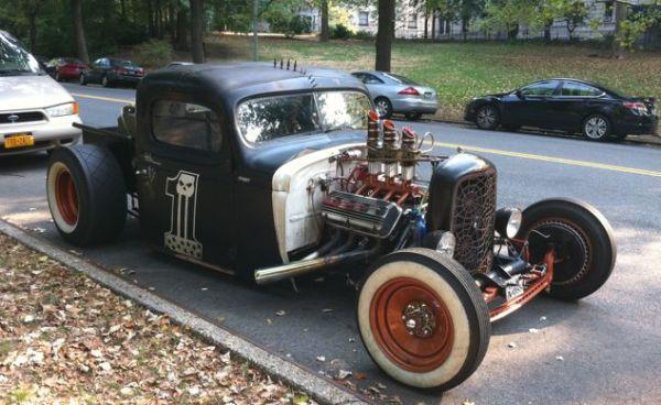 NYC Steampunk Car