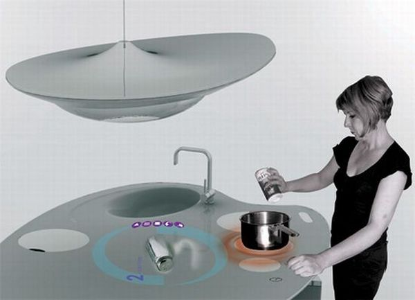 Oniris futuristic kitchen