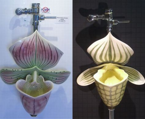 Orchid Urinal