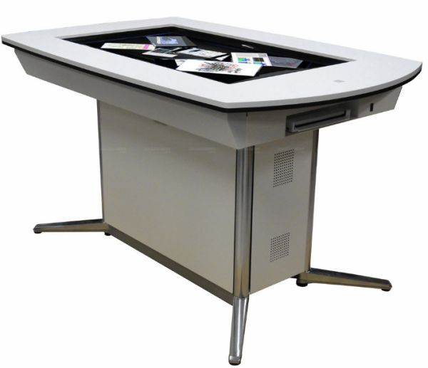 pioneer multitouch interactive discussion table