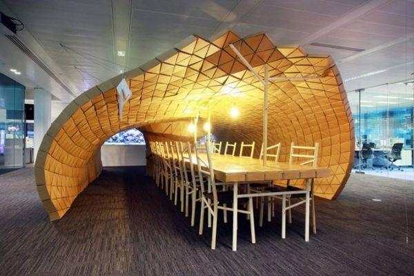 Pupa pavilion