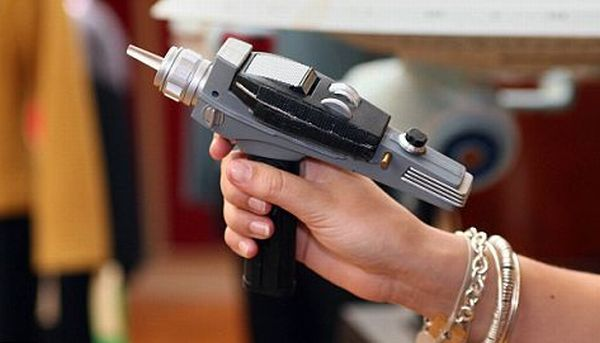 REAL Star Trek beam gun