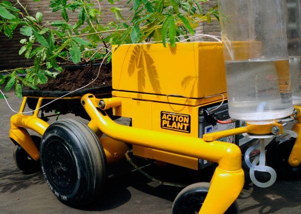 Robotic action plant