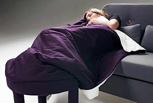 Roll Up Blanket Chair