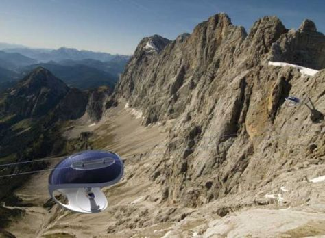 solar powered experience lift tRYNe 17621