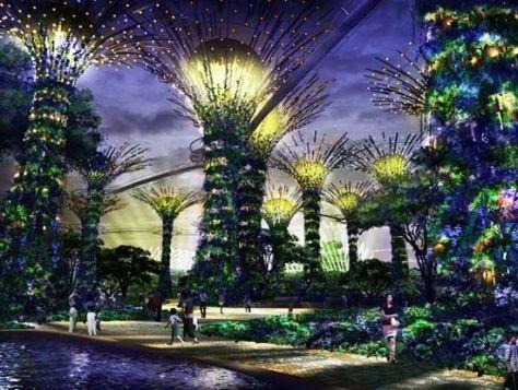 solar trees garden 01
