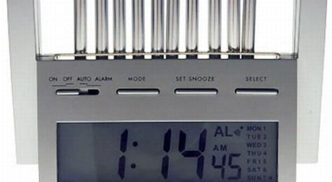 the wind chime alarm clock