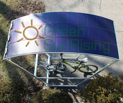 The Solar Bikeport
