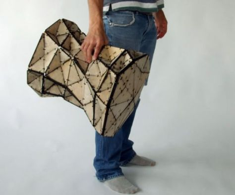 triangles stool 03