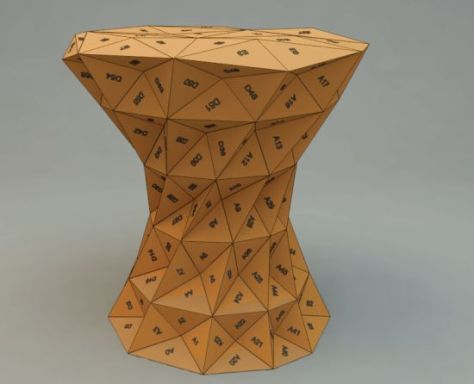 triangles stool 04