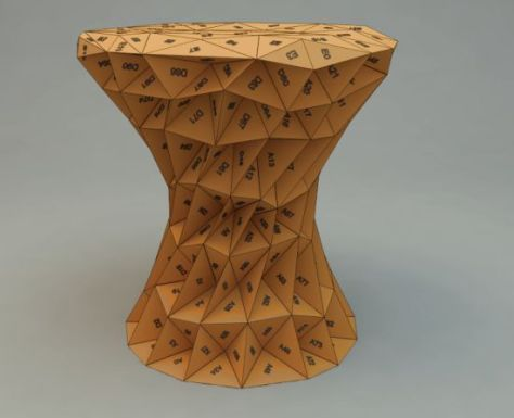 triangles stool 07