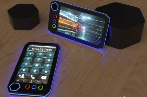 Tron Phone Concept
