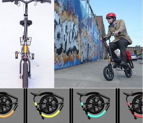 Two Folding Electric Bike