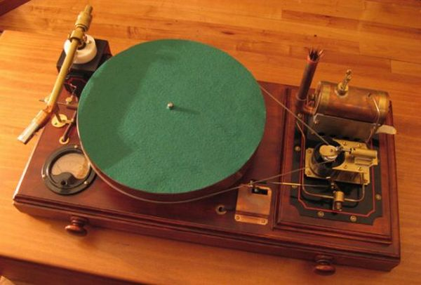 Vinyle player