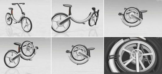 vw folding electric bike 01