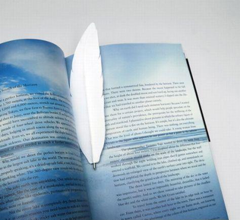 white haptic penna bookmark pen 06