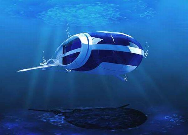 маленькая подводная лодка для людей