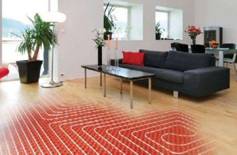 Radiant Heat floor