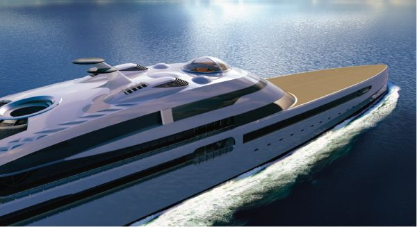 Futuristic concept yachts that define luxury on the waves