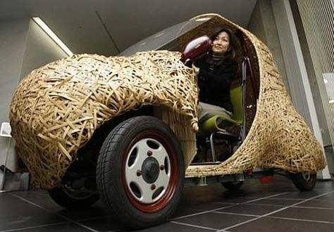 Bamgoo, Electric Car Made of Bamboo