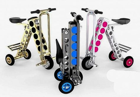 The Urb-E is an electric scooter