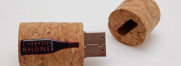 Wine Stopper USB Memory Stick 2