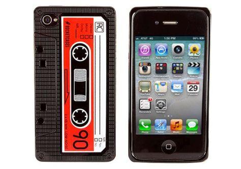 iPhone Cassette Tape Case